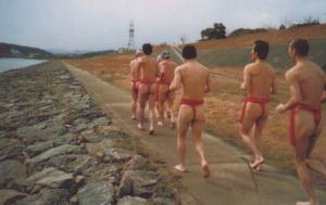 "Gotta love those ""sumo pants"""